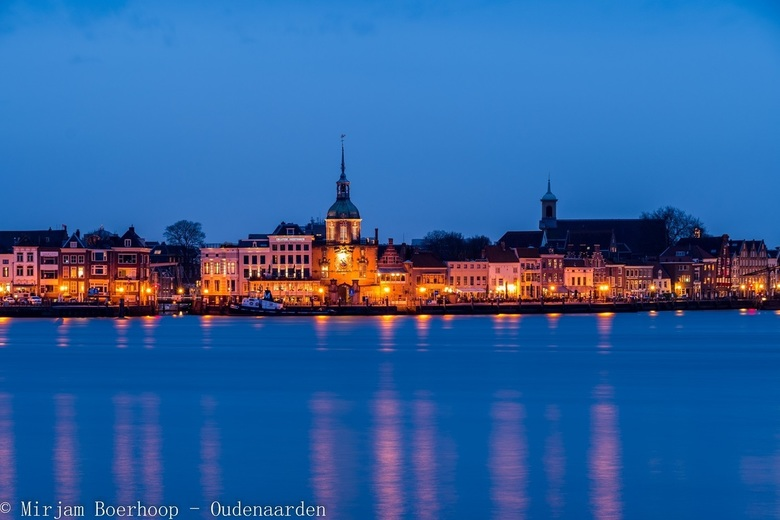 The blue hour over Dordrecht -