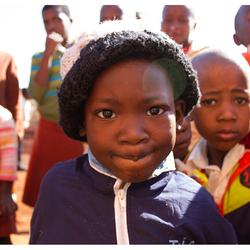 Zuid Afrikaans jongetje