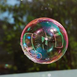 a soapbubble.... ain`t that life ??!!