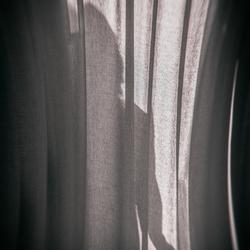 * Behind the curtain *