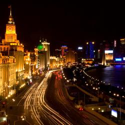 Shanghai Bund @ Night