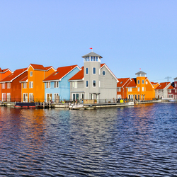 Colourful Houses - Groningen