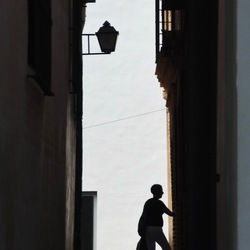 Steegje in Malaga