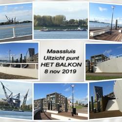 collage Maassluis Uitz  HET BALKON  8 nov 2019