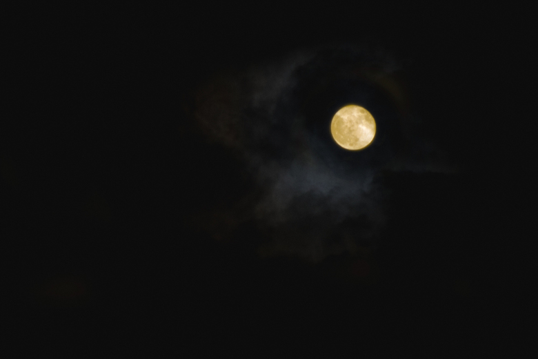 """Beautiful Moon - """"Shoot for the moon. Even if you miss, you'll land among the stars."""""""