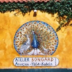 Muurschildering in Ferragudo, Portugal