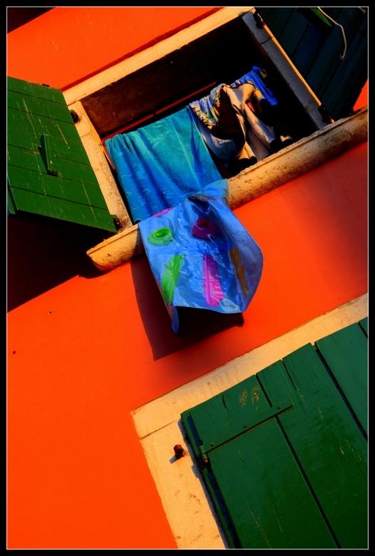 Wasgoed - Mooi wasgoed in het dorpje Rovinj... (Kroatie)