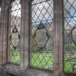 Kerkraam, Worcester Cathedral