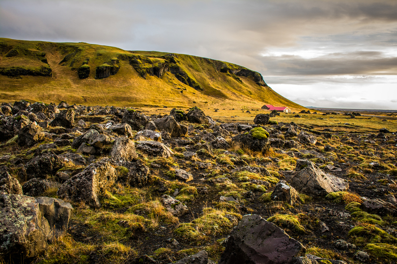 on the road, iceland -