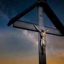 Jezus met de melkweg