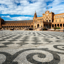 Plaza de Espana , sevilla