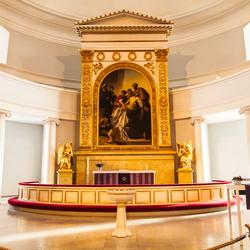 Altaar van de Domkerk te Helsinki