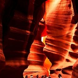 antilope canyon, een pracht stuk natuur