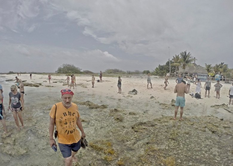 strandleven - strandleven op Curacao