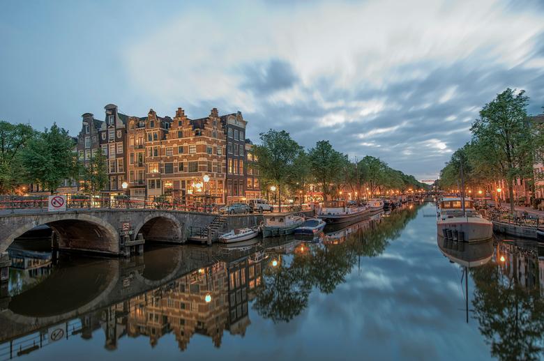 Amsterdams avondje - Avondje op de gracht in Amsterdam doorgebracht. Groet, Djurre