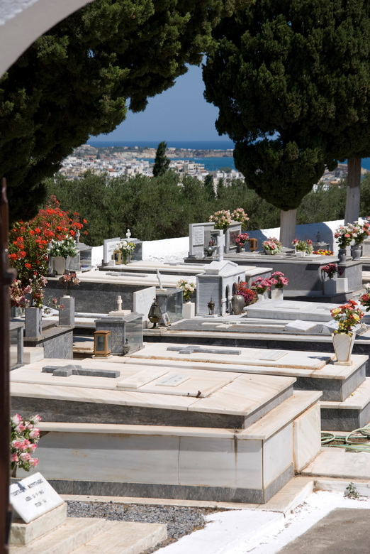 begraafplaats Kreta -