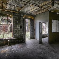 glasfabriek -12- en slot