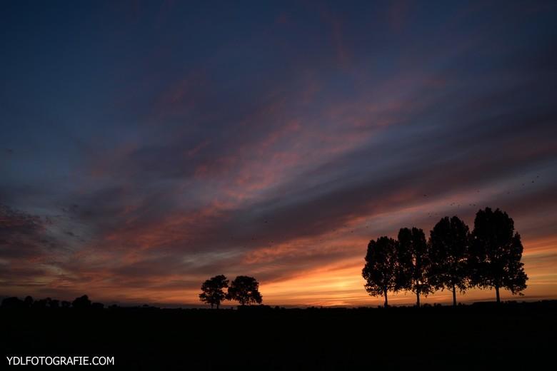 Fantastische zonsondergang! -