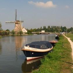 P1240173 Schipluiden molen korpershoek   en Kagenaar rondvaart  4 sept 2013