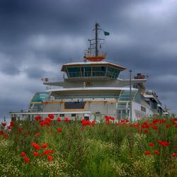 Teso boot op Texel