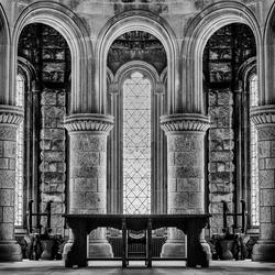 inside an old Scottisch Church