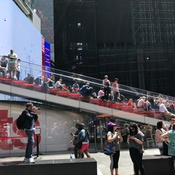 De trap (Times Square)