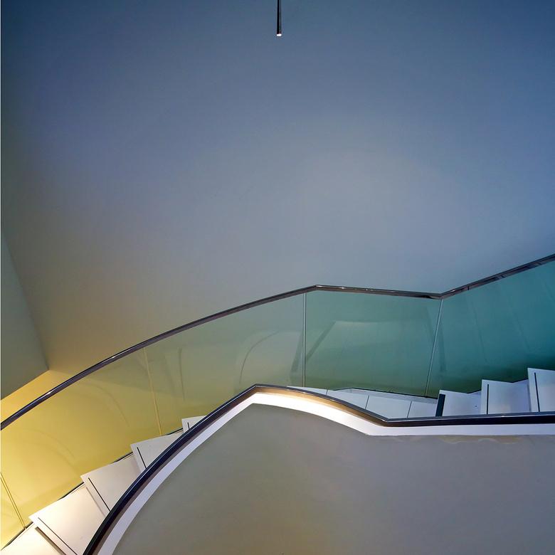 Drents Museum Assen 10 - De trap met verlichting