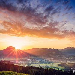 zonsopkomst allgau