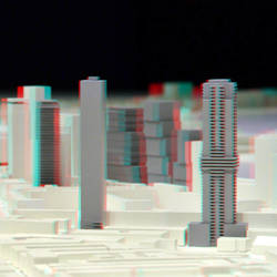 maquette Rotterdam Discovery 3D