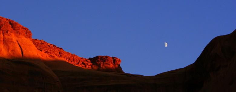 Monument Valley - Om even in de vakantiestemming te blijven, nog een mooie vakantieherinnering.