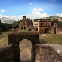 kasteel Ethiopie