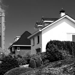 Straatje bij de watertoren, Schimmert