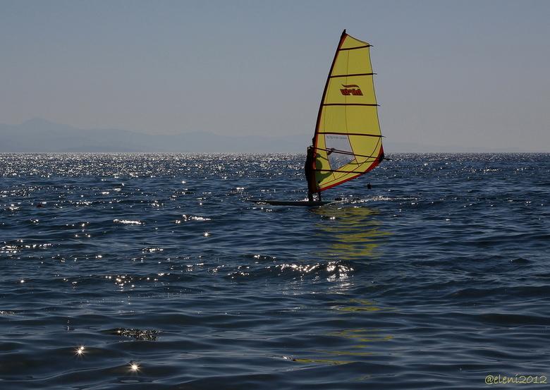 Windsurfing - Seeing stars...