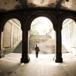 Bethesda Terrace in NYC