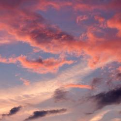 Gekleurde lucht