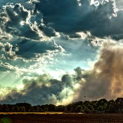 Grote heidebrand in Geldrop-Mierlo 2