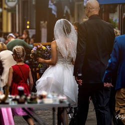 There they go, to the wedding official