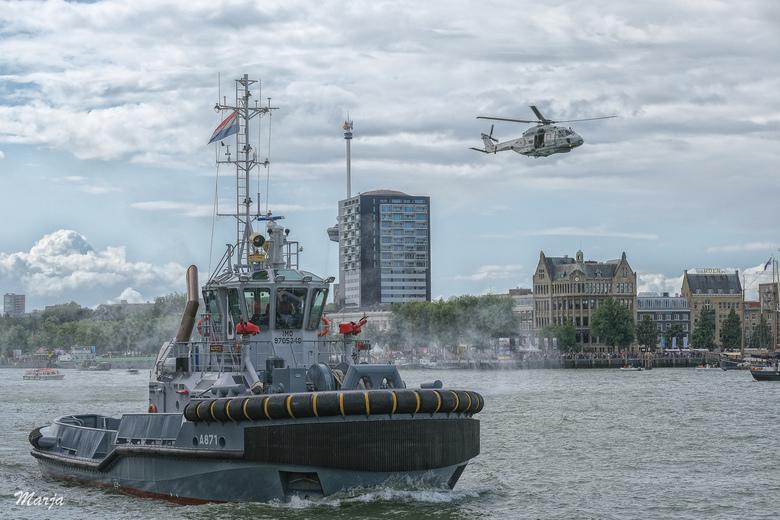 Wereld Haven dagen Rotterdam 2019 - Dagje Wereld havendagen in Rotterdam geweest. Wat een event! Hier een demo van de Nederlandse Marine. Echt gaaf om