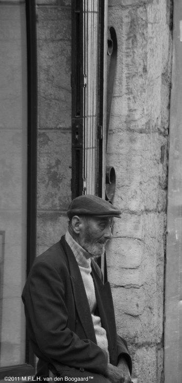 Oude man - Oude man in Frankrijk