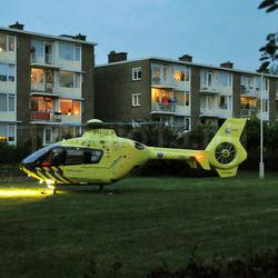 Traumahelikopter...