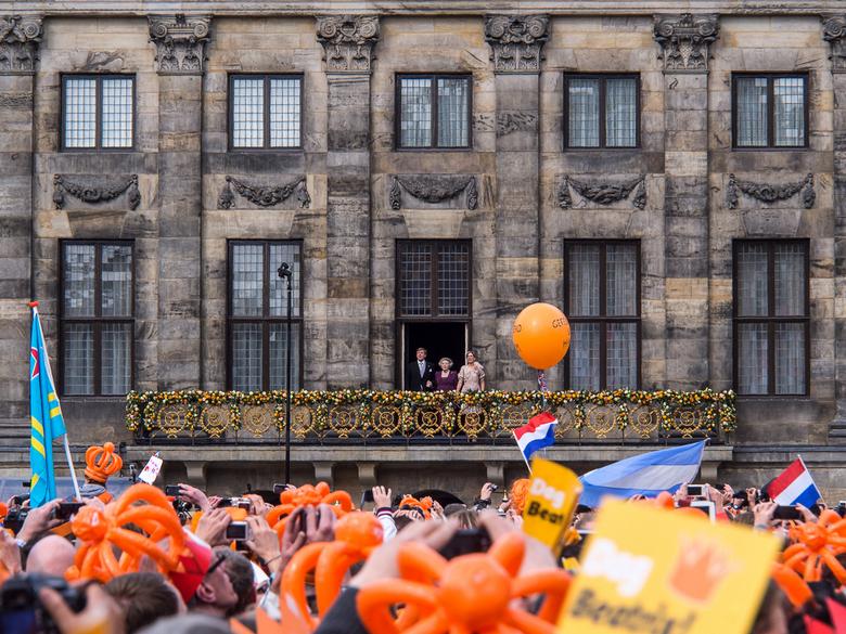 Amsterdam 252 - Het was mooi en druk op de Dam