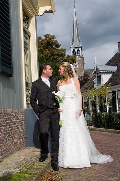 Len en Go - Len en Go in Broek in Waterland getrouwd