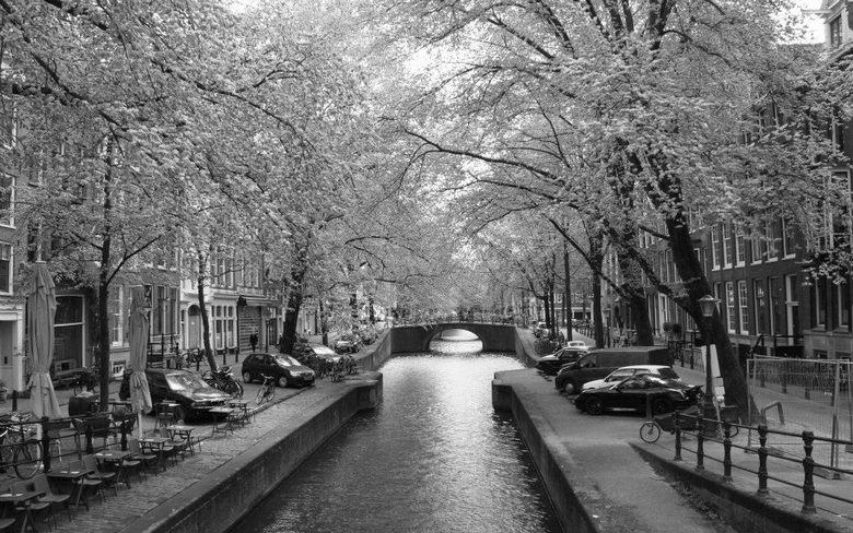 Bekend Amsterdam zwart-wit | Landschap foto van cath070 | Zoom.nl @MJ22