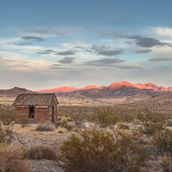 Rhyolite by Sunset - Amerika