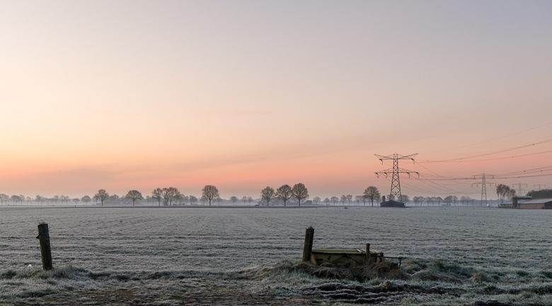 Spanning op het platteland - Een mooie ochtend op het platteland.