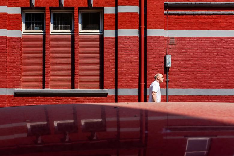 Red - Man in Maastricht, Maastricht 2018