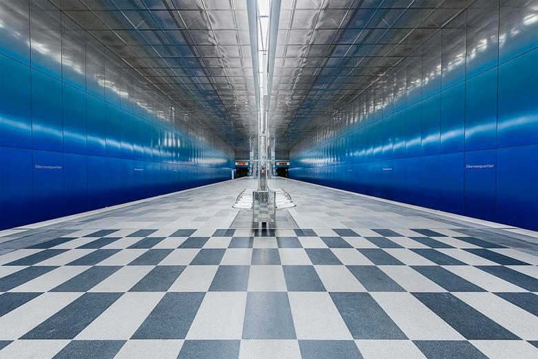 Metrostation Uberseequartier Hamburg ...