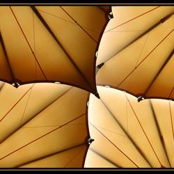 vlinder van textiel