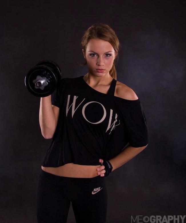 Work hard, play hard - Sportfotografie. <br /> Model: Britt