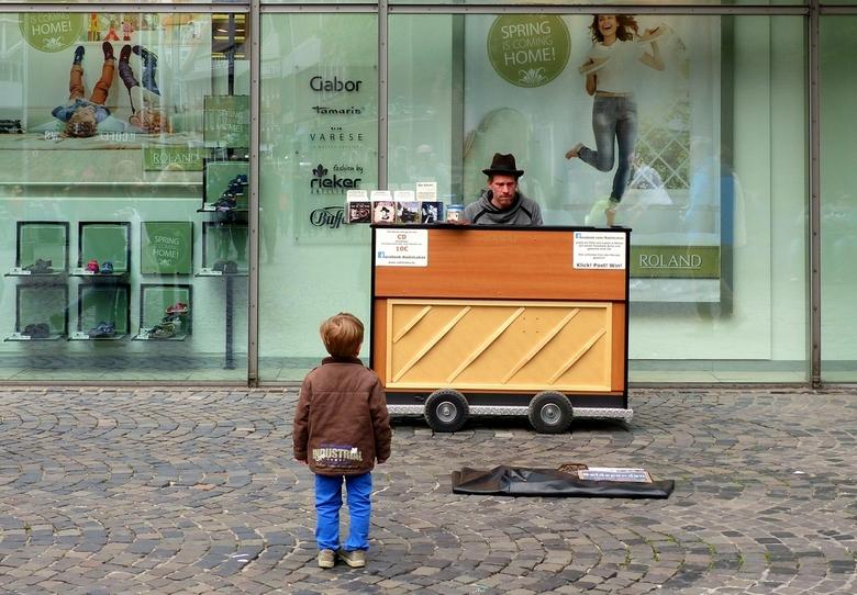 De fanclub - Ergens op straat in Münster Duitsland